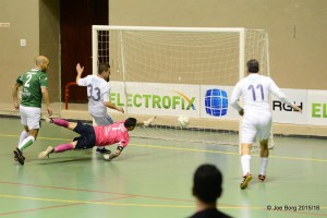 Ribic scores from close range for Sliema.