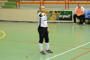 Chris Azzopardi with Melita FC
